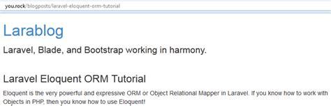 tutorial laravel blade laravel blade templating web development tutorials