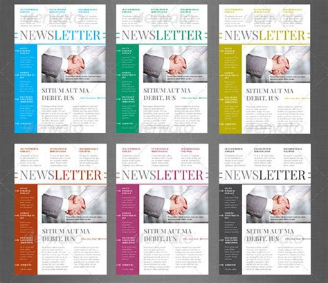 10 best indesign newsletter templates design freebies
