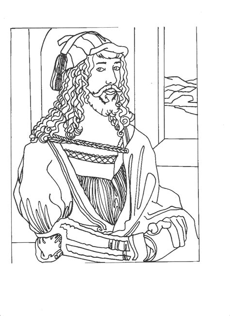 printable coloring pages renaissance art renaissance art coloring pages