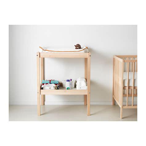 sniglar wickeltisch table a langer sniglar ikea hetre blanc ebay