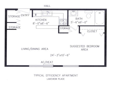 efficiency floor plans small efficiency apartments floor plans micro efficiency