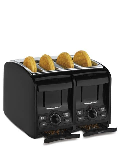 Four Toast Toaster Perfecttoast 174 4 Slice Toaster From Hamilton