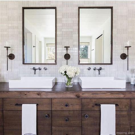 Modern Bathroom Vanity Ideas by 27 Awesome Modern Farmhouse Bathroom Vanity Ideas