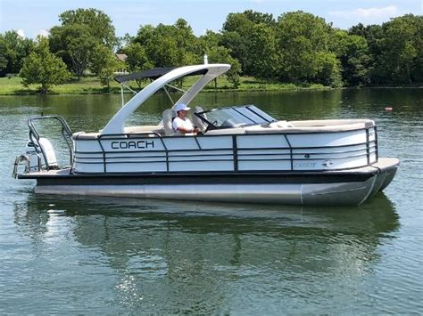 used coach pontoon boats new and used boats for sale everythingboats