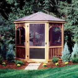 Small Gazebos For Patios 27 Gazebos With Screens For Bug Free Backyard Relaxation