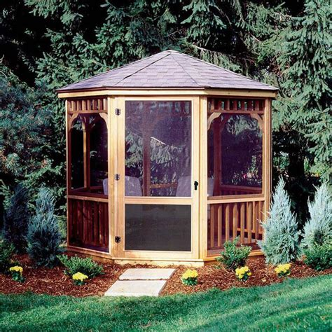 gazebo for backyard 27 gazebos with screens for bug free backyard relaxation