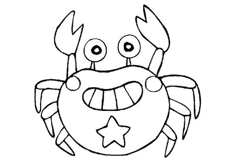 cute crab coloring pages crab coloring pages coloring home