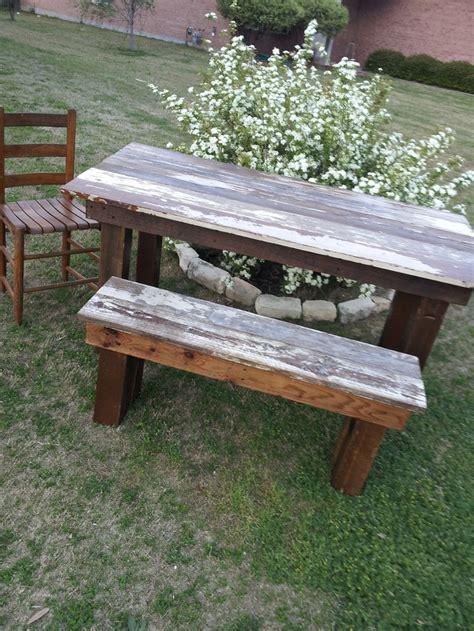 bench esszimmertisch set die besten 25 farm table with bench ideen auf