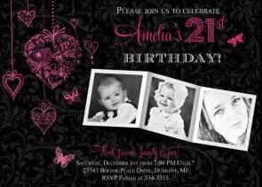 21st birthday invitation ideas bagvania free printable