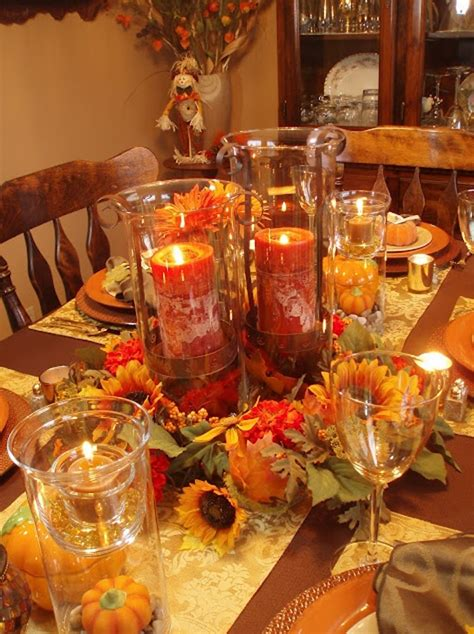 gorgeous  awesome thanksgiving table centerpieces