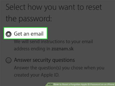 apple forgot password how to reset a forgotten apple id password on an iphone