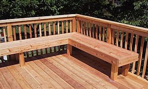 built in bench on deck patio step ideas built in deck seating ideas deck bench