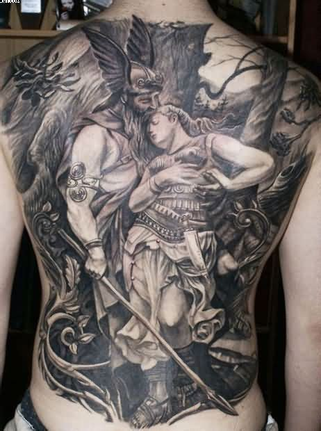 100 best back tattoos for boys