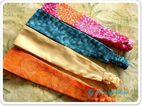 Disc Embellish Hair Band make headbands fabric headbands and tutorials on