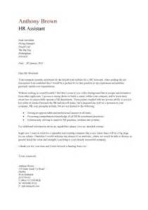 Cover Letter For Human Resources Position by Cover Letter For Human Resources Free Cv Exle
