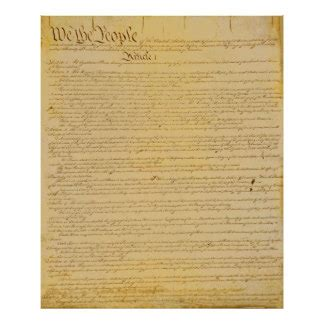 printable constitution poster constitution posters zazzle