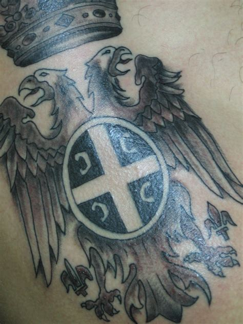 tattoo serbian eagle serbian tattoos www imgkid com the image kid has it