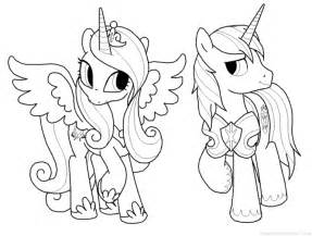 princess cadence coloring pages my pony coloring pages shining armor printable