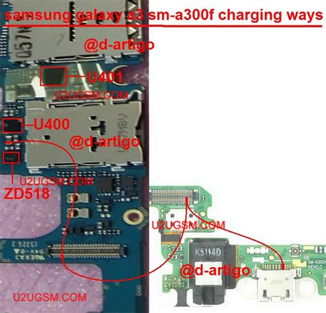 Papan Board Conektor Charger Samsung I8262 samsung galaxy a3 charging solution jumper problem ways charging not supported