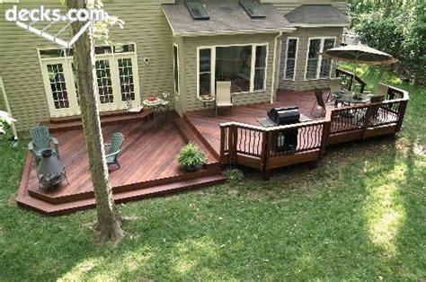 Backyard Grill Low Best 25 Low Deck Designs Ideas On