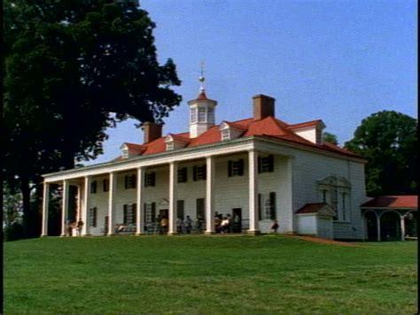 mount vernon george washington home and plantation stock