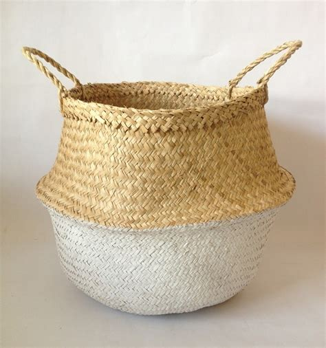 Handmade Laundry Basket - handmade foldable laundry storage seagrass basket buy