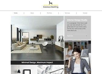 Professional Interior Design Websites 1000 images about wix templates on pinterest ecommerce