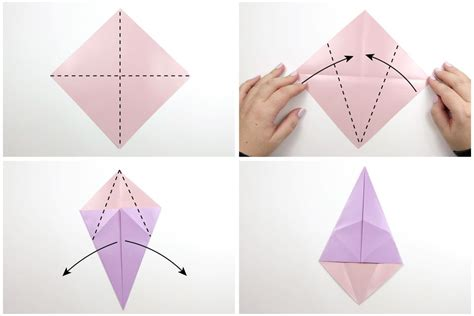 Origami Mice - how to make an origami mouse