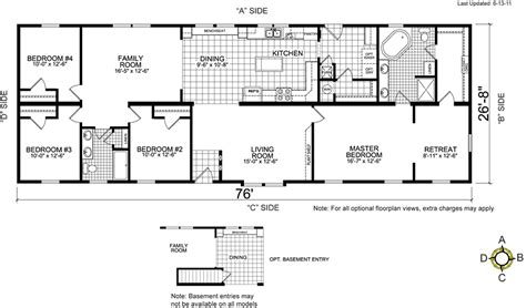 manufactured homes floor plan fuqua homes floor plans home design and style