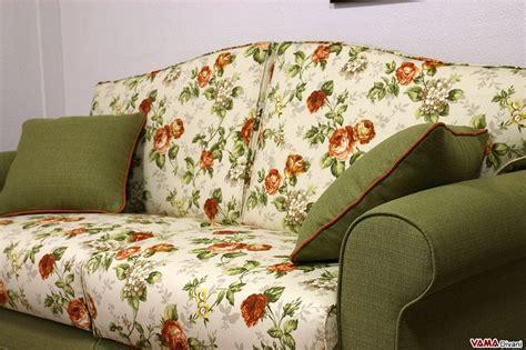 divani a fiori divano letto matrimoniale classico in tessuto