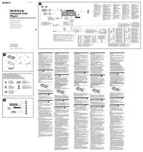 sony cdx gt400 wiring diagram sony wiring diagram free