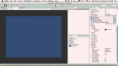 unity change layout color 26 unity3d tutorial guistyle gui skin youtube