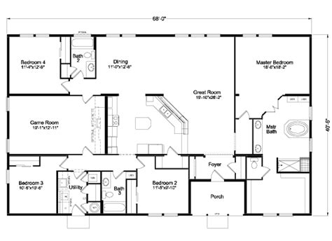 1000 images about floor plans manufactured on