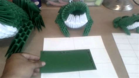 How To Make A 3d Frog Out Of Paper - 3d origami frog