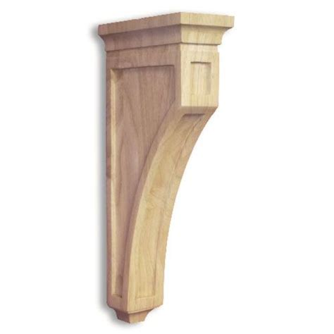 Corbel Styles Legacy Artisan 14 Inch Traditional Mission Corbel