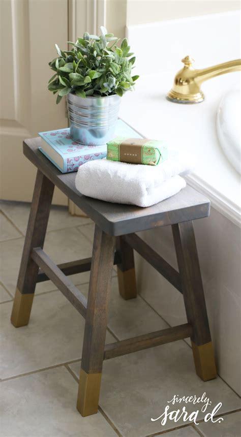 stool for bathroom diy bathroom stool sincerely sara d