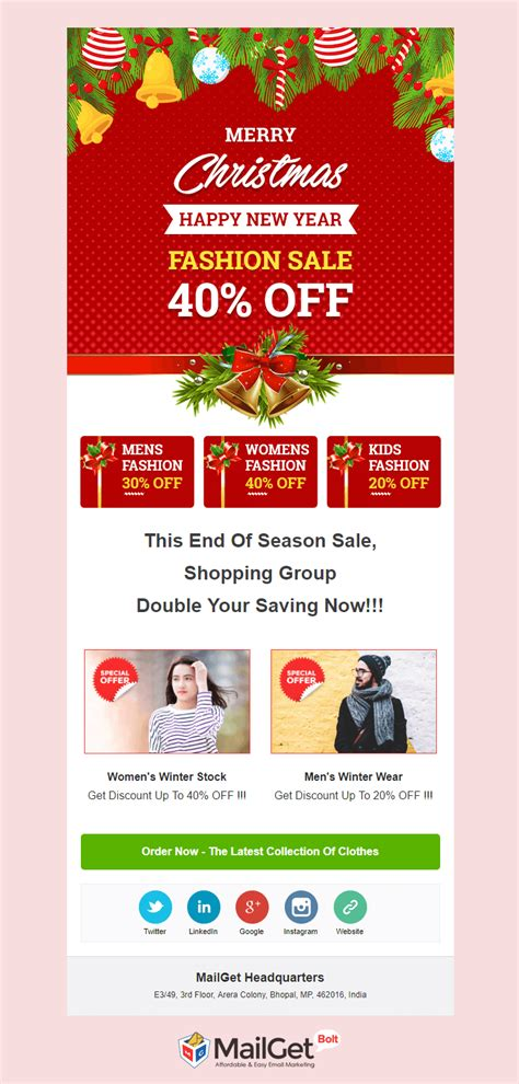 82 best fashion email newsletters images on email newsletters email newsletter free 5 new year email templates
