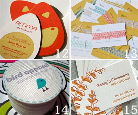 The Handmade Card Company - creative handmade business card ideas oh my handmade