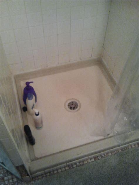 shower floor repair demo and pre pan tile contractor