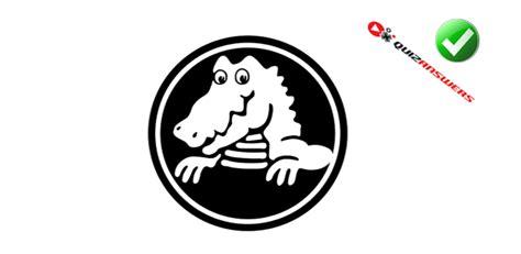 logo black and white crocodile logo with alligator www imgkid the image kid has it