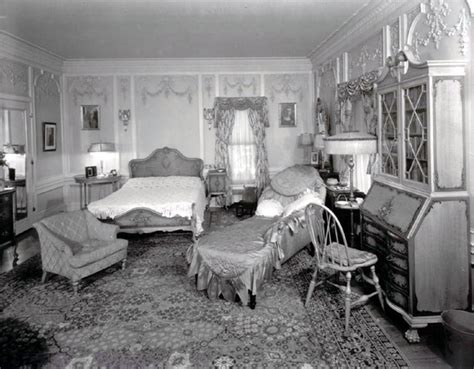 1930s bedroom frank phillips home from the archves