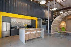 Office Kitchen Design Contemporary Office Space In California Home Interior Design Kitchen And Bathroom Designs