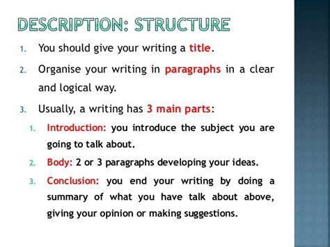 A Place Details How To Write A Description