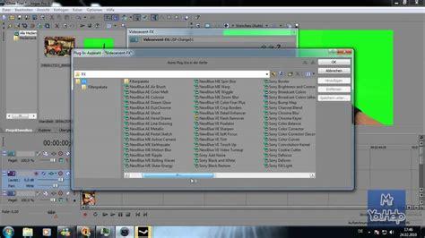 tutorial sony vegas chroma key sony vegas tutorial chroma key arbeiten mit