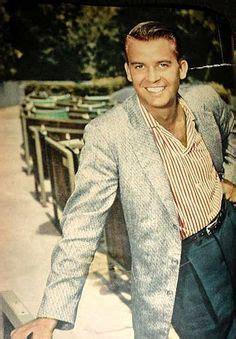 Rest In Peace Jeanne Of The 1950s Pinup Fame by Sweater Hair Style Bobby Rydell 8x10 Color Photo 1950 S