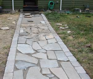 Patio Paver Stones Better Remade Flagstone Walkway Better Remade
