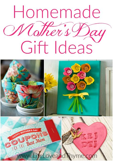 Handmade Mothers Day Gift Ideas - free printable s day cards and thyme