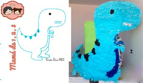 te ensenamos a hacer tu propia pinata de mike wazowski monsters inc estas animada en hacer tu propia pi 241 ata de dinosaurio pu