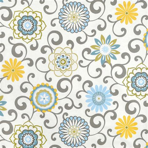 blue and yellow curtain fabric blue yellow window curtains floral medallion curtain panels