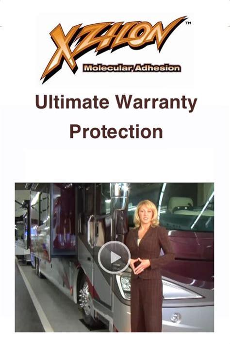 Xzilon Interior by Rv Protection Plans Xzilon Extended Warranty Gap